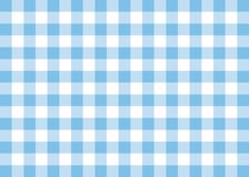 Light Blue Gingham Pattern Background. This is a background illustration inspired in a gingham pattern Royalty Free Stock Images