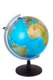 Light-blue globe Stock Image