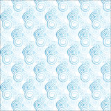 Light blue gradient spiral pattern Stock Photography