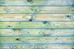 Light blue and green wooden background royalty free stock image