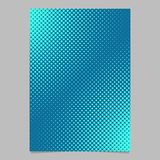 Light blue halftone dot pattern page template - vector brochure background graphic. Light blue halftone dot pattern page template design - vector brochure vector illustration