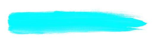 Light blue hand painted brush stripe texture royalty free illustration