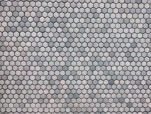 Light blue hexagon pattern royalty free stock photos