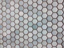 Light blue hexagon pattern royalty free stock photography