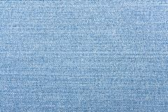 Light blue jeans texture. Denim background. royalty free stock image