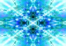 Free Light Blue Kaleidoscope Background Royalty Free Stock Images - 35202469