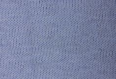 Light blue knitted wool background Stock Image