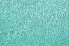 Light blue leather. Furniture upholstery leather of light blue color Royalty Free Stock Images