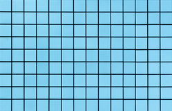 Light blue mosaic tiles texture Stock Photography