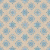 Light blue ornamental pattern Stock Photos
