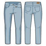 Light blue pants Stock Images