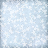 Light blue  paper with stars. Stock Photos