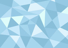 Light blue pastel color polygon background. For background stock illustration