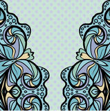 Light blue pattern with polka dot Stock Photos