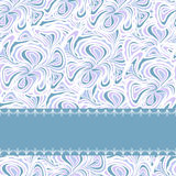 Light blue pattern with stripe Royalty Free Stock Photo
