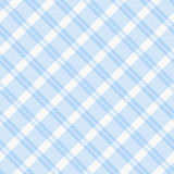 Light blue Plaid Fabric Background. A light blue plaid fabric  background that is seamless Royalty Free Stock Photography