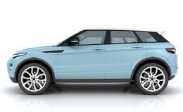 Light blue Range rover Royalty Free Stock Photo