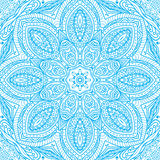 Light blue rectangular ornament Stock Images