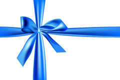 Light blue ribbon Stock Image