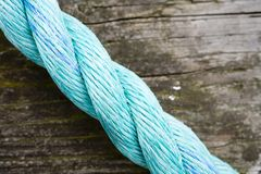 Light Blue Rope Royalty Free Stock Photography