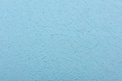 Light Blue rough paper made from mulberry tissue. The texture is. The art of non-smooth texture Stock Photos