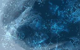 Light blue scribble background. Royalty Free Stock Photography