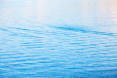 Light blue sea water surface with ripple Royalty Free Stock Photo