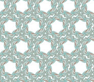 Light blue seamless pattern. Abstract light blue seamless pattern with hexagonal elements royalty free illustration