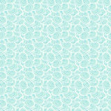 Light blue seamless pattern with shells  Ocean bac Stock Photos