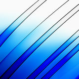 Light blue shiny lines Stock Images