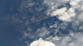 Light blue sky with cloud Royalty Free Stock Images