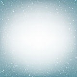 Light blue snow background Royalty Free Stock Photography