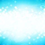 Light blue sparkle Royalty Free Stock Images