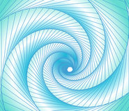 Light blue spectrum background spiral and lines Royalty Free Stock Photo