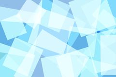 Light Blue Square Abstract Background. Vector Illustration vector illustration