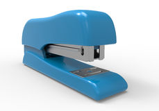 Light blue stapler Royalty Free Stock Photos