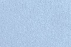 Light blue synthetic leather. stock photography