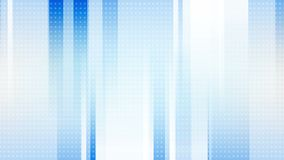 Light blue tech geometric abstract video animation stock video footage