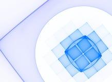 Light blue techno background Royalty Free Stock Photo