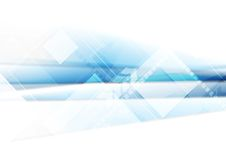 Light blue technology background with squares Royalty Free Stock Photo