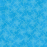 Light blue texture with curls - vector Stock Photo