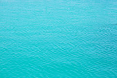 Light blue top sea view Stock Photography