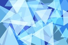 Light Blue Triangle Abstract Background. Vector Illustration vector illustration