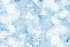 Light Blue Triangles Background royalty free illustration