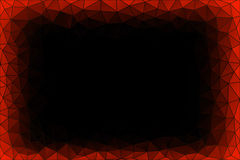 Copper Dark Triangle Background Royalty Free Stock Image