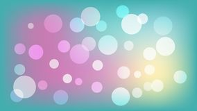 Light blue vector background with circles. Illustration with set of shining colorful gradation. Pattern for booklets, leaflets stock illustration