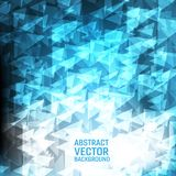 Light blue vector geometric abstract background. New polygonal texture background  design for your business.  Royalty Free Stock Image