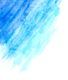Light blue watercolor abstract background Stock Photography