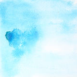 Light blue watercolor background Stock Photo