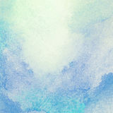 Light, blue watercolor background. Royalty Free Stock Image